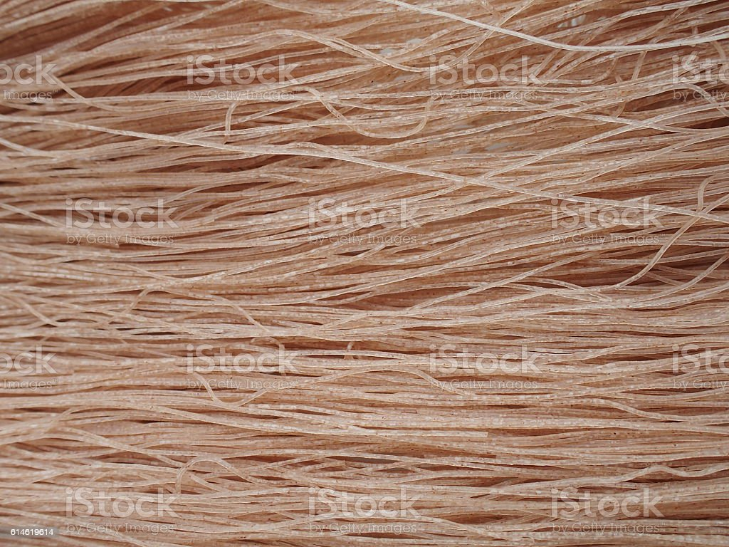 brown rice dried noodle stock photo