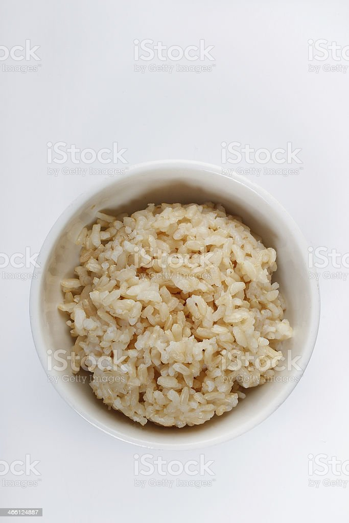 Brown Rice stock photo