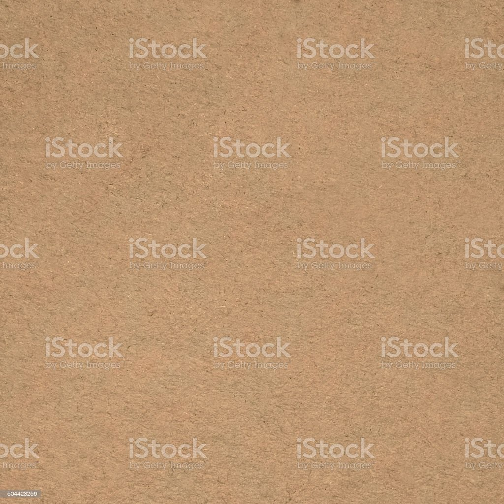 Brown rough textured cardboard carton paper stock photo