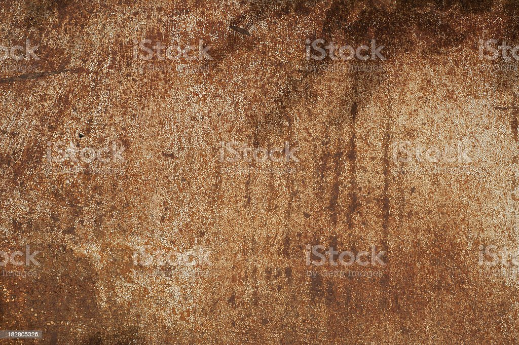 Brown Rust Background royalty-free stock photo