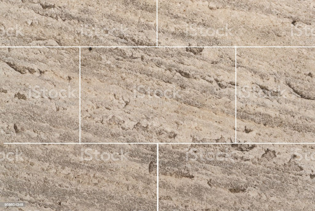 Brown Sandstone Tile Floor Texture And Background Stock Photo More