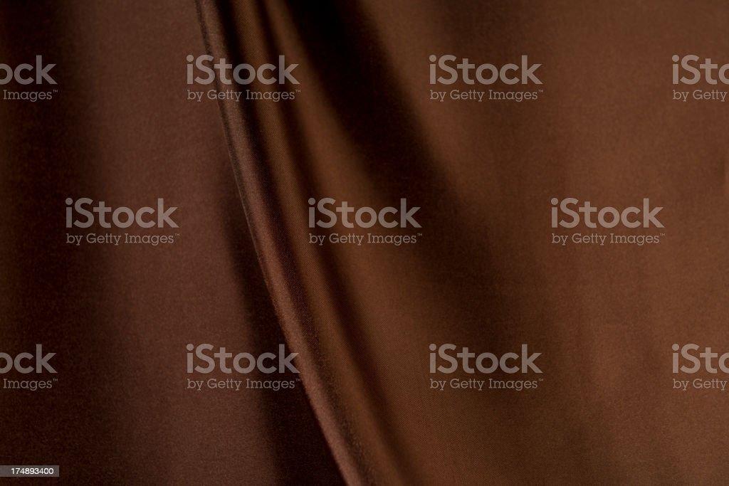 Brown satin royalty-free stock photo