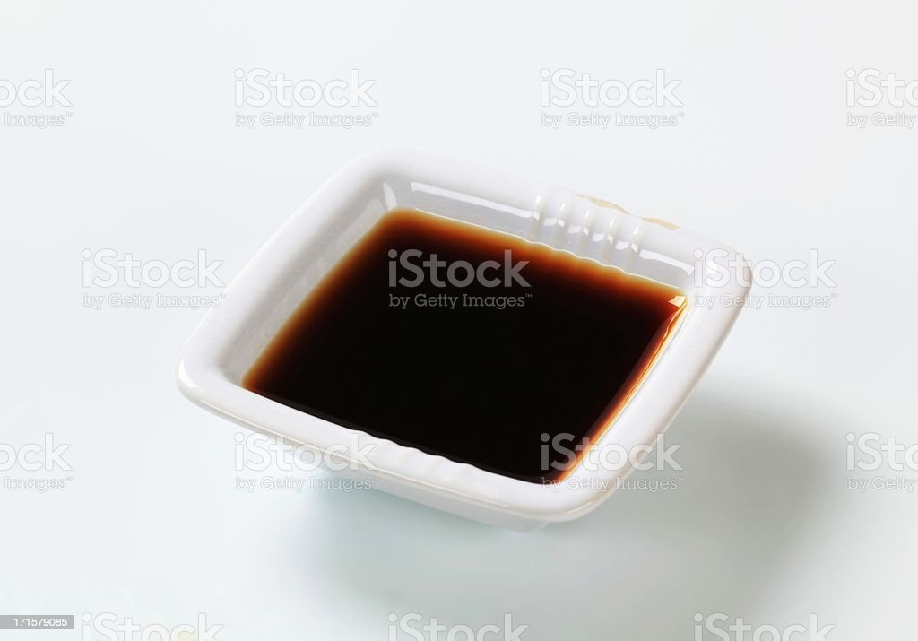 brown sauce stock photo