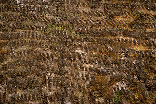 A brown sheet made with cloth material camouflage background camouflage stock pictures, royalty-free photos & images