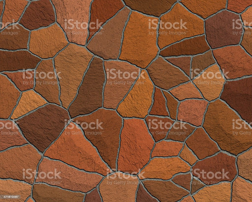 brown sidewalk blocks background royalty-free stock photo