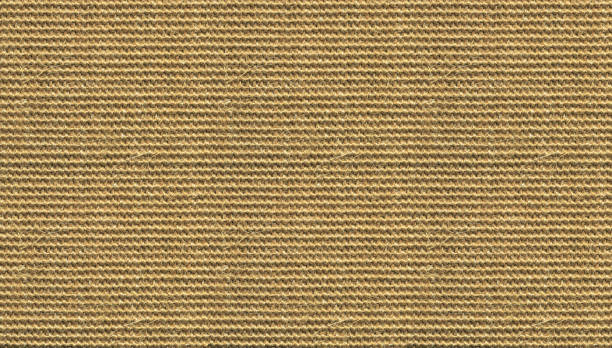 brown sisal carpet texture background. hand woven rug. - sisal stock pictures, royalty-free photos & images