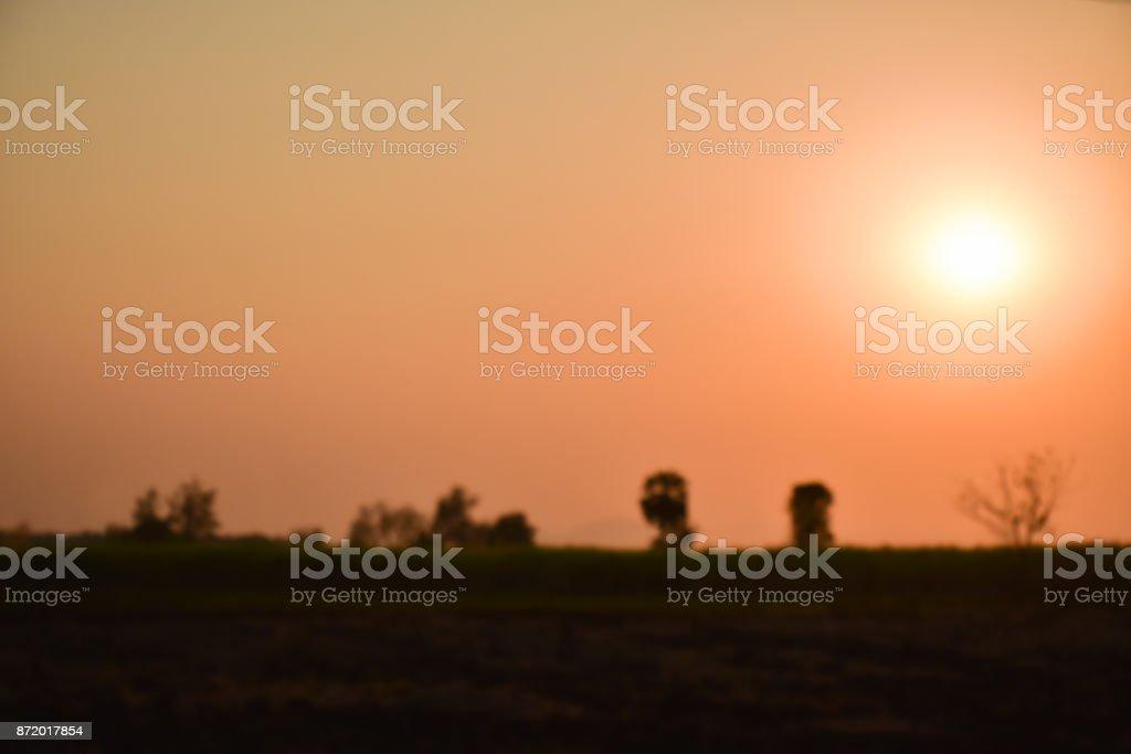 Brown sky blur background stock photo