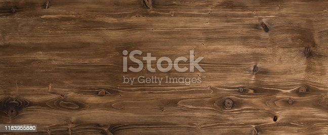 istock Brown smooth wood surface 1183955880