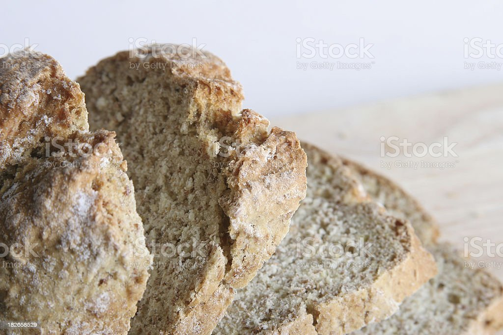 brown soda bread royalty-free stock photo
