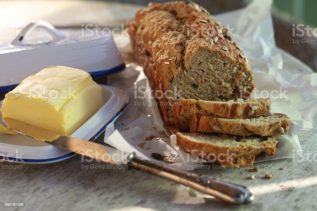 Brown Soda Bread stock photo