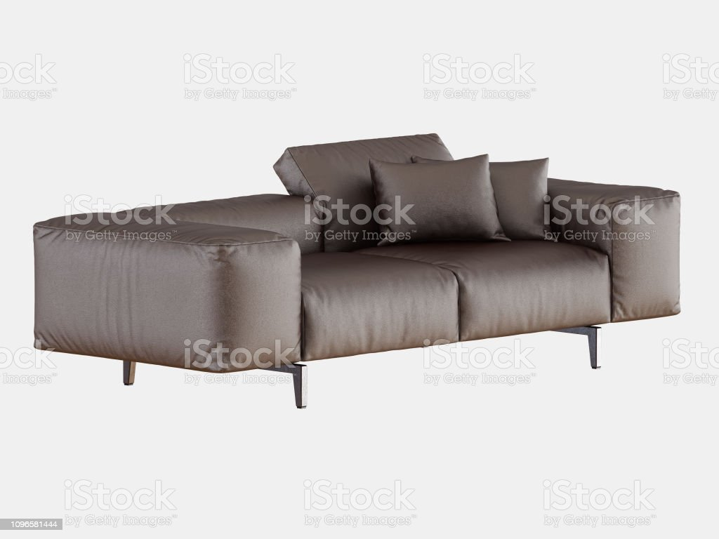Magnificent Brown Soft Leather Sofa Stock Photo Download Image Now Squirreltailoven Fun Painted Chair Ideas Images Squirreltailovenorg