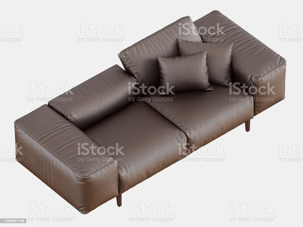 Sensational Brown Soft Leather Sofa Stock Photo Download Image Now Squirreltailoven Fun Painted Chair Ideas Images Squirreltailovenorg