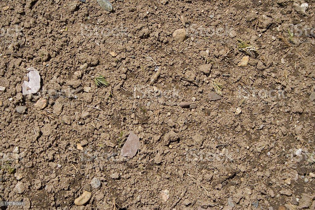 Brown Soil royalty-free stock photo
