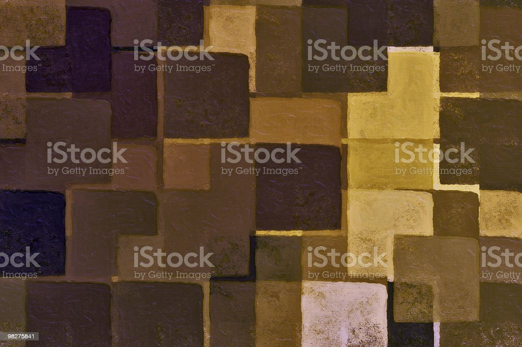 brown squares royalty-free stock photo