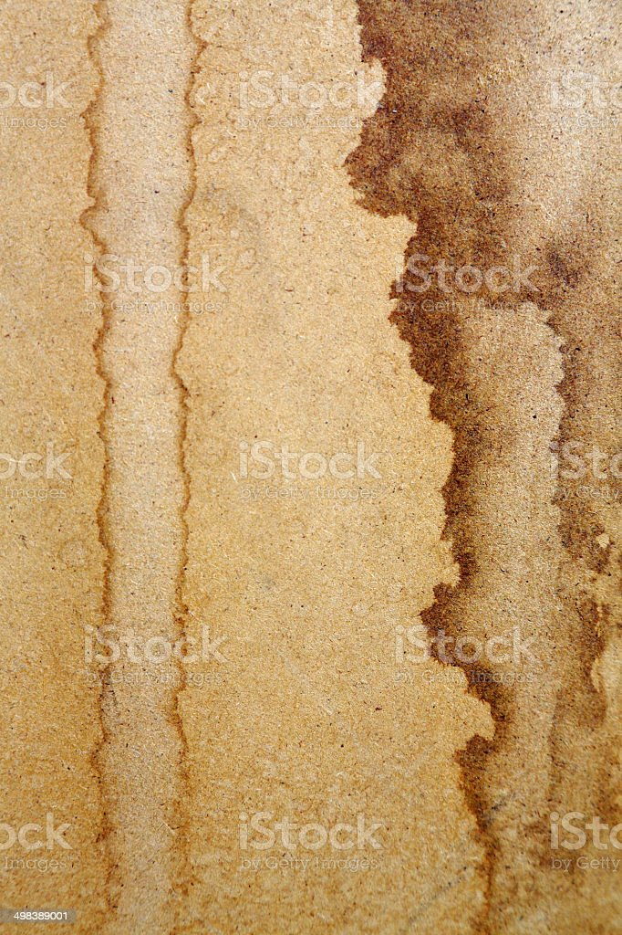 Brown Stained Chipboard royalty-free stock photo