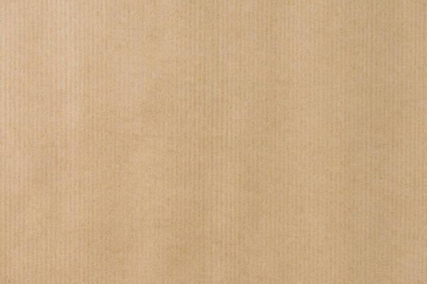 brązowy paski recyklingu tekstury papieru do owijania. papier kraftowy - karton tworzywo zdjęcia i obrazy z banku zdjęć