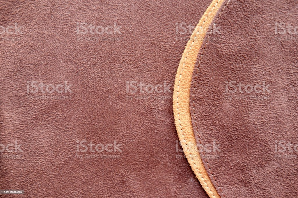 brown suede photo album cover - Royalty-free Backgrounds Stock Photo