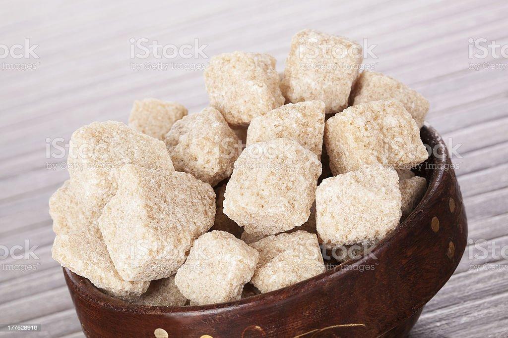 Brown sugar. royalty-free stock photo