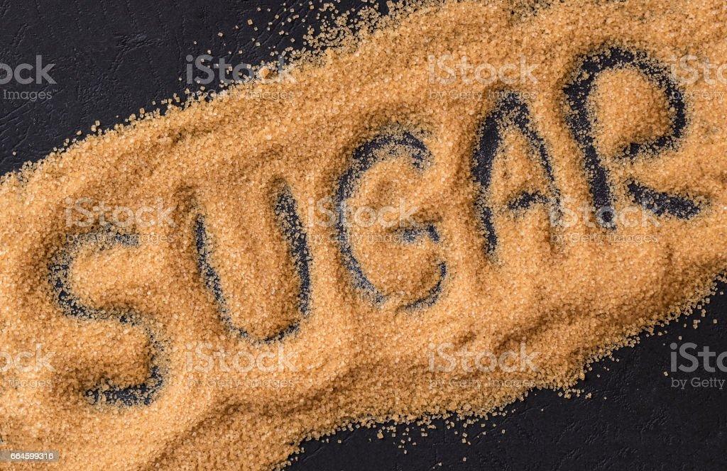 Brown Sugar stock photo