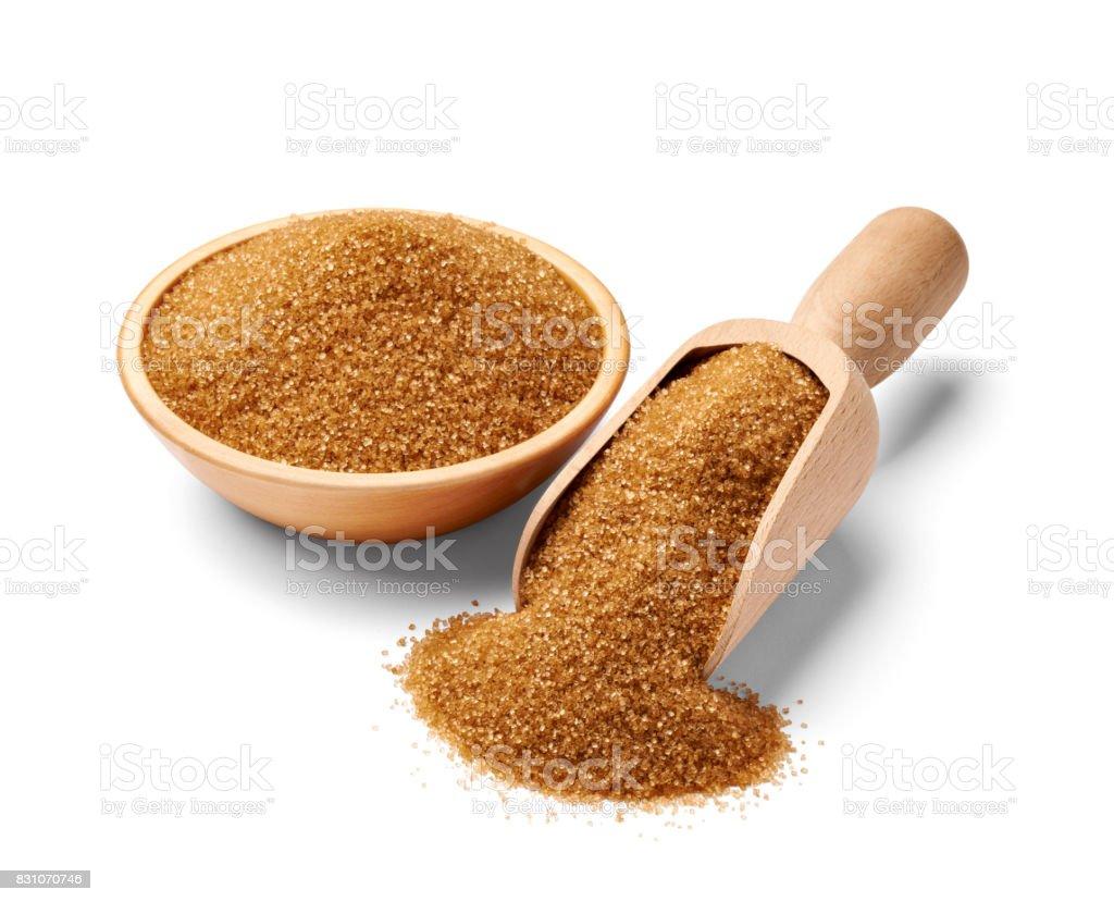 brown sugar sweet food crystal ingredient stock photo