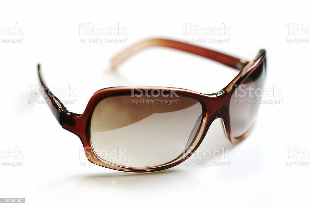 Brown sunglasses 3 royalty-free stock photo