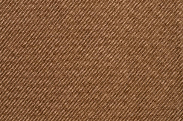 brown textile background texture - corduroy stock pictures, royalty-free photos & images