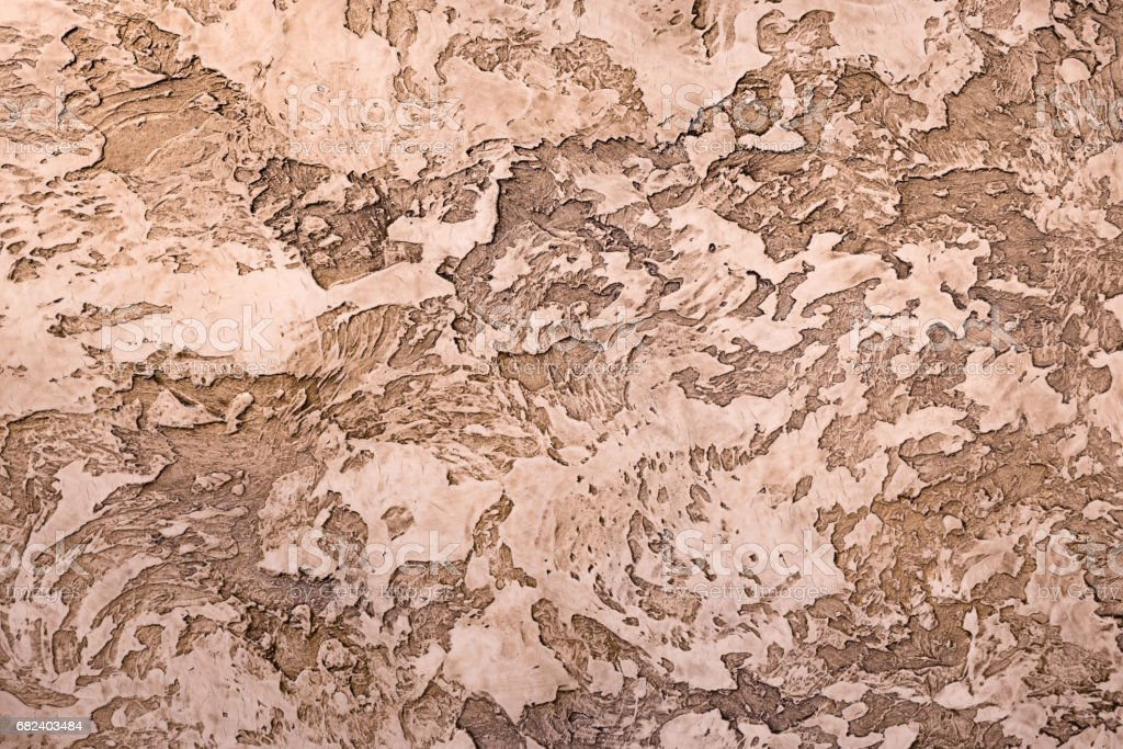 brown textured clay with a relief pattern royalty-free stock photo