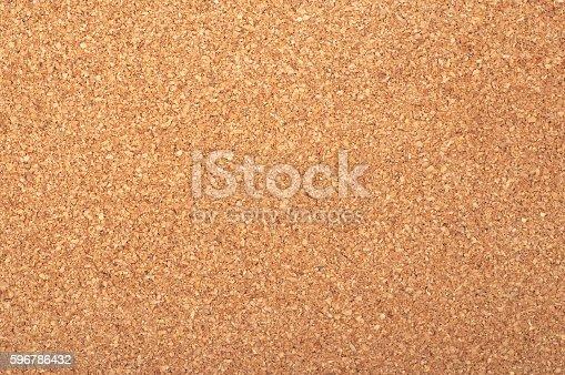 istock Brown textured cork - closeup 596786432