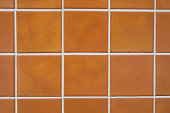 brown tile with white Fugue