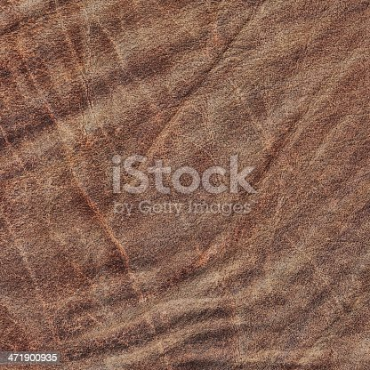 This High Resolution Old Dark Brown Veal Leather, Crumpled, Wizened Grunge Texture Sample, is defined with exceptional details and richness, representing the excellent choice for implementation in various CG Projects.