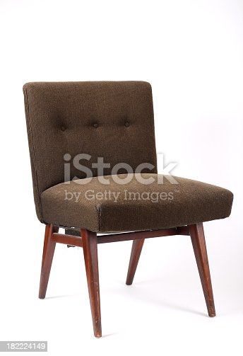 A vintage chair from the 1970s
