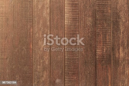 Brown vintage wood wall background
