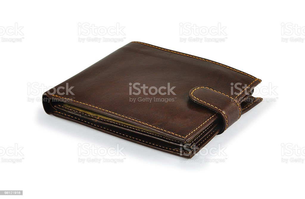 Brown Wallet royalty-free stock photo