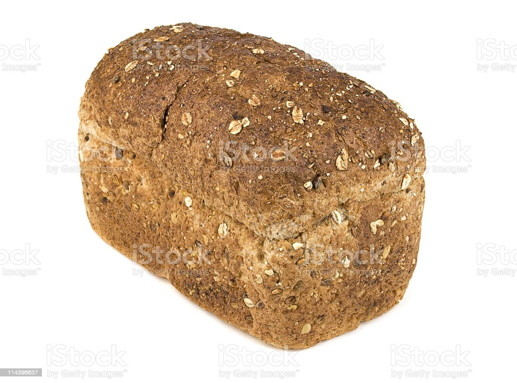 Brown Wholemeal Granary Loaf royalty-free stock photo