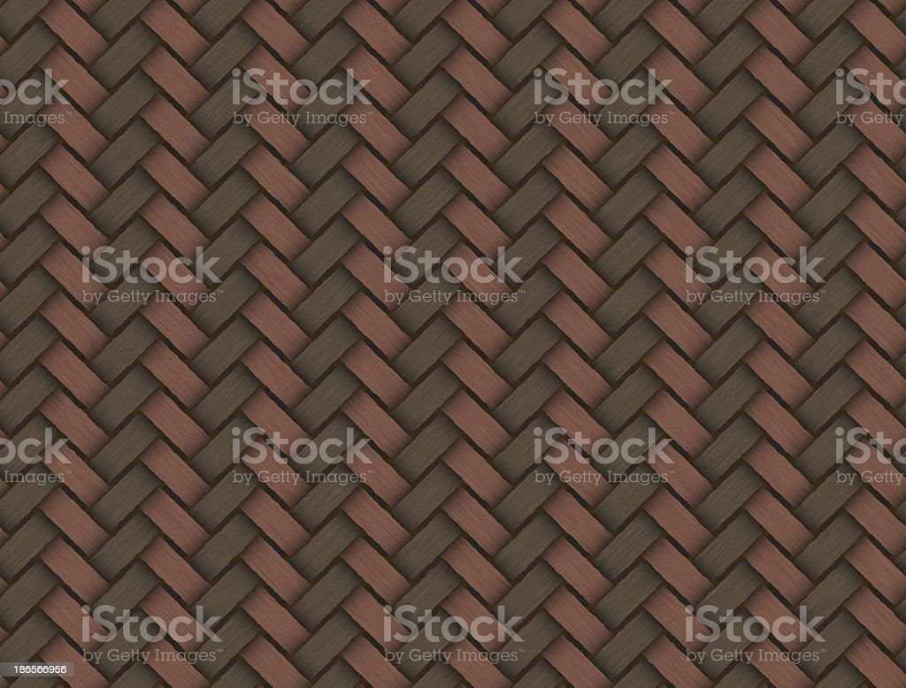 Brown wicker texture used as a background royalty-free stock photo
