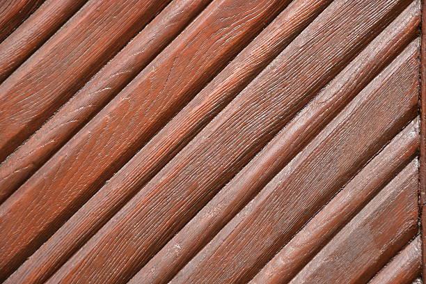 Braun Holz Tür – Foto
