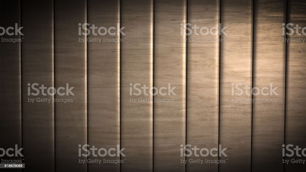 Brown wood material strips background stock photo