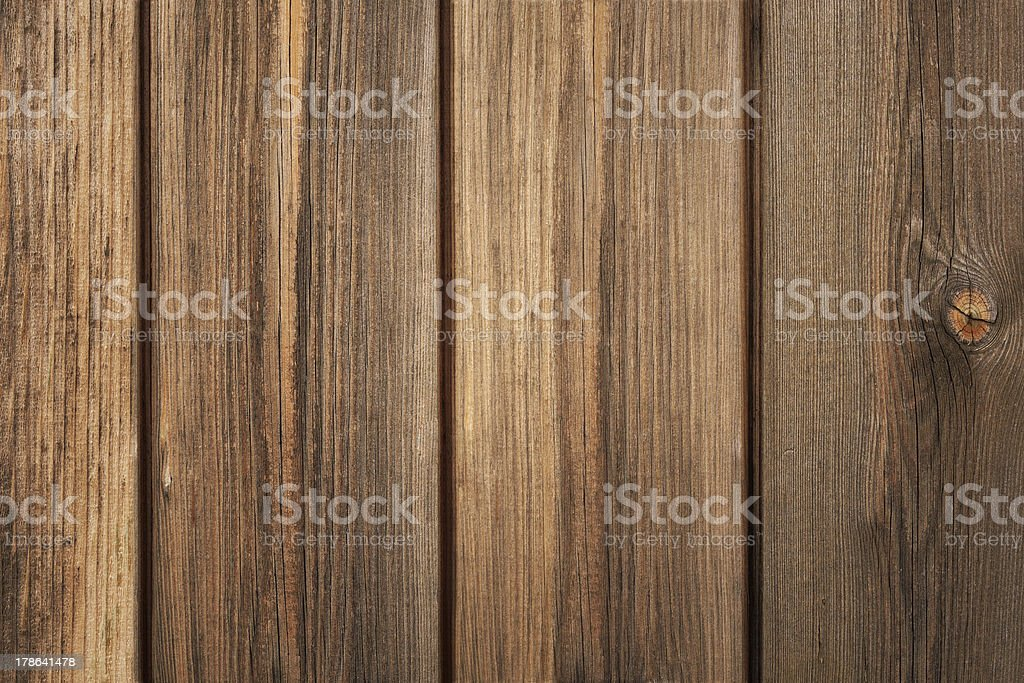 Brown Wood Plank stock photo