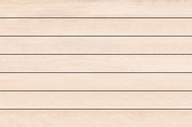 brown wood plank texture background - palisade boundary stock photos and pictures