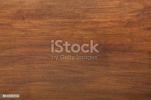 Brown wood texture background. Rustic brown wooden board pattern
