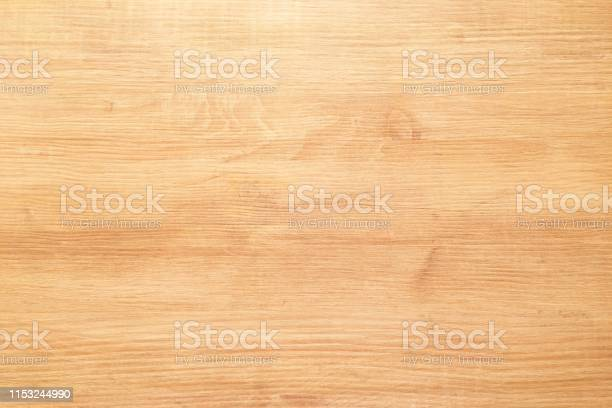 Photo of brown wood texture, light wooden abstract background