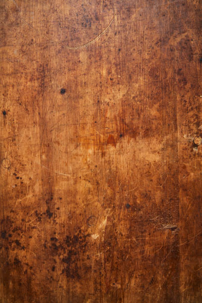 Brown wooden background Overhead view of a brown wooden background wood pattern stock pictures, royalty-free photos & images