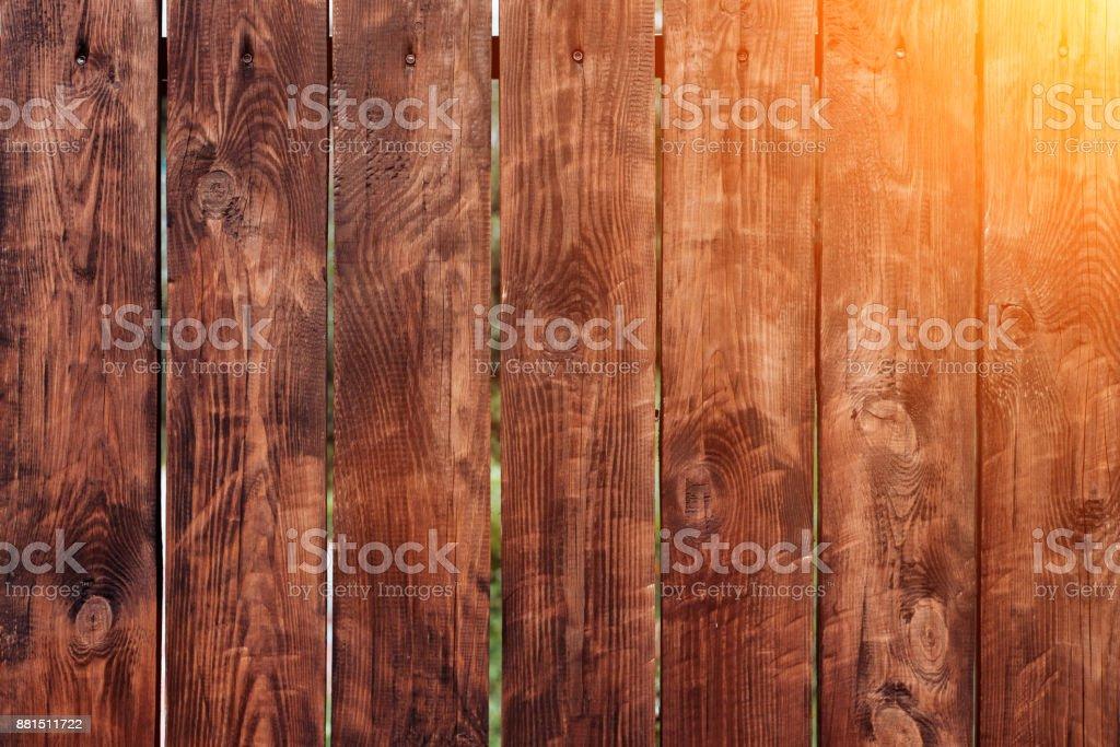 Braun Holzernes Brett Zaun Dunkle Vintage Holzbrettern Hintergrunde