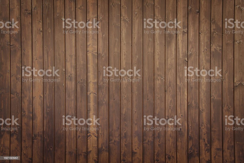 Brown wooden panels stock photo