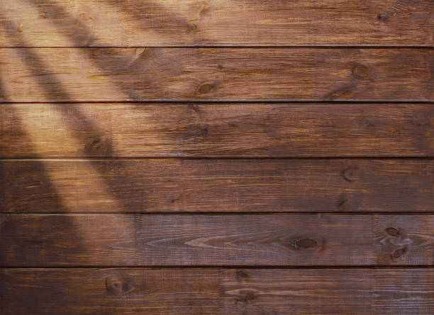 brown wooden plank desk table background texture top view brown wooden plank desk table background texture top view table top view stock pictures, royalty-free photos & images
