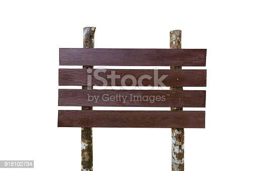 914465180istockphoto Brown wooden sing 915102734