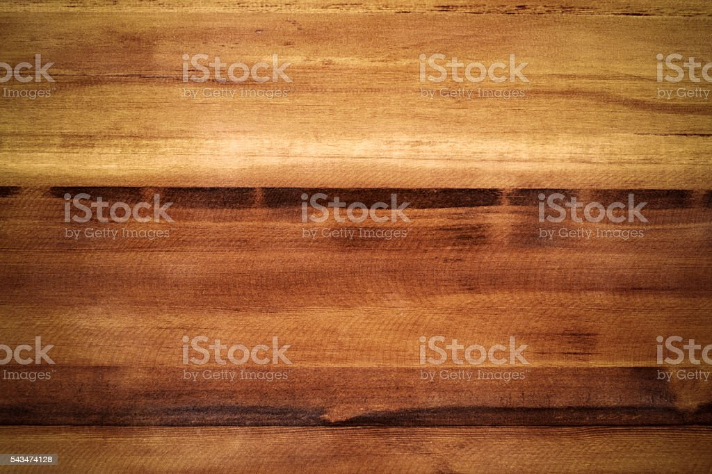 Brown Wooden Table Background stock photo