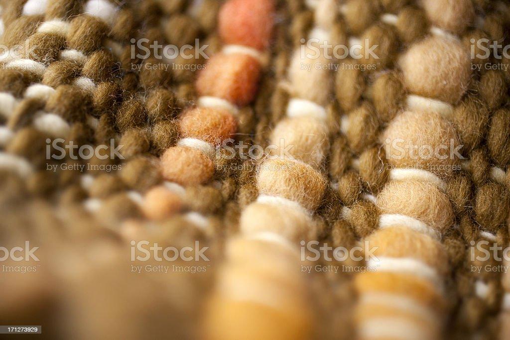 Brown wool detail stock photo