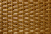 Woven rattan texture design for background.