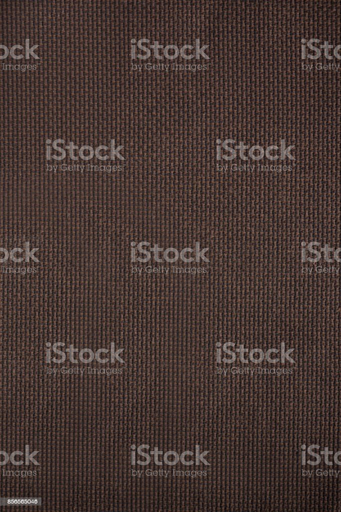 Brown Woven Textile Fabric Swatch stock photo